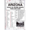 Arizona Gold and Gem Map